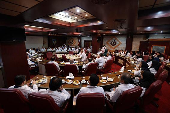 برگزاری جلسه کمیته مورتالیتی مورخ 13 آذرماه در مرکز قلب و عروق شهید رجایی