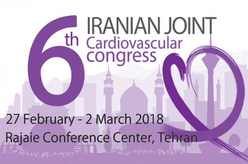ششمین کنگره مشترک قلب و عروق ایران.